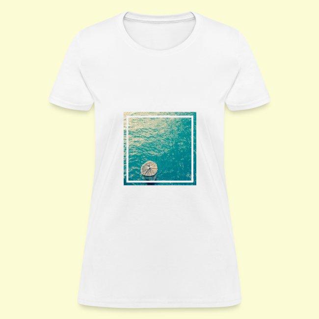 Framed ocean print