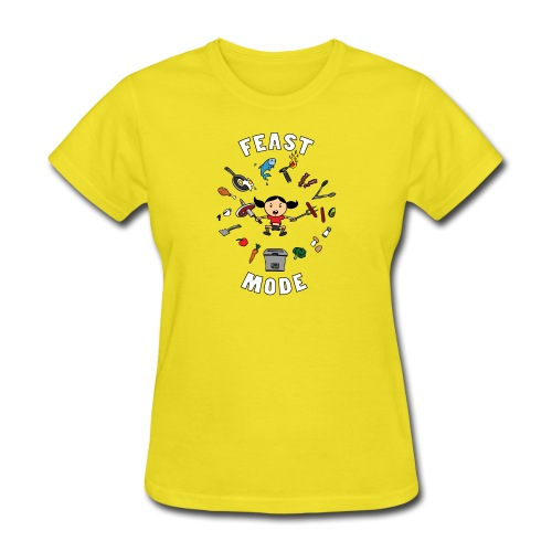 Feast Mode - Women's T-Shirt