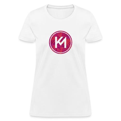 KM logo - Women's T-Shirt