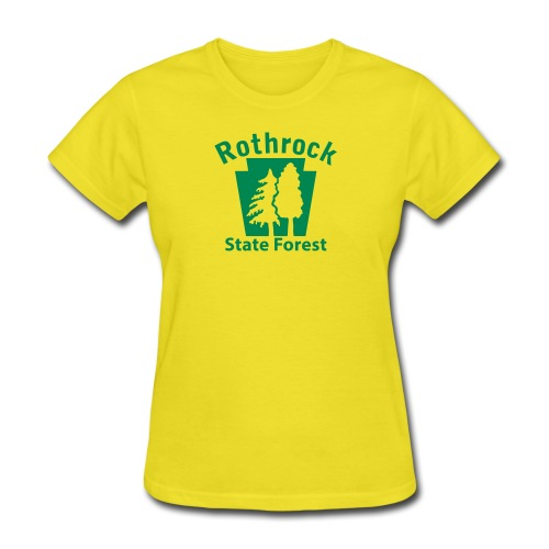 Rothrock State Forest Keystone (w/trees) - Women's T-Shirt