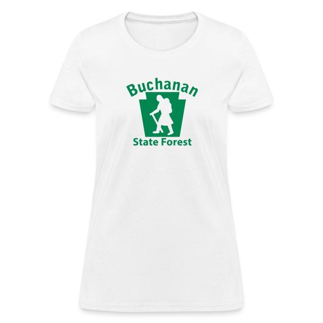 Buchanan State Forest Keystone Hiker female