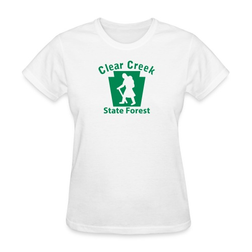 Clear Creek State Forest Keystone Hiker female - Women's T-Shirt