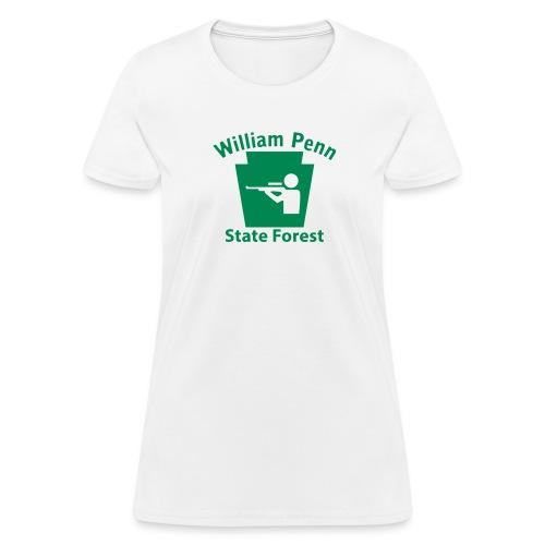 William Penn State Forest Hunting Keystone PA - Women's T-Shirt
