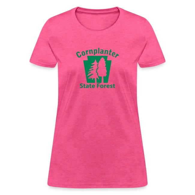 Cornplanter State Forest Keystone (w/trees)