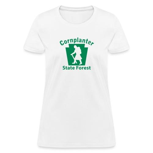Cornplanter State Forest Hiker female - Women's T-Shirt