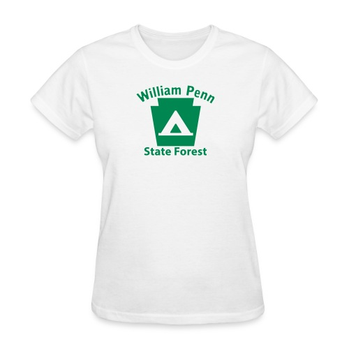 William Penn State Forest Camping Keystone PA - Women's T-Shirt