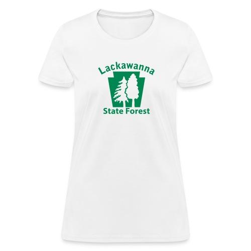 Lackawanna State Forest Keystone (w/trees) - Women's T-Shirt
