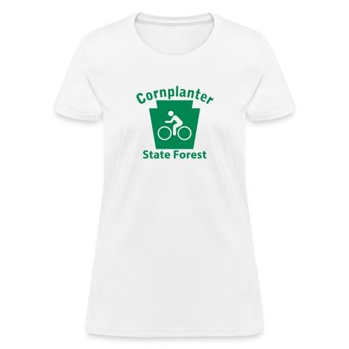 Cornplanter State Forest Keystone Biker - Women's T-Shirt