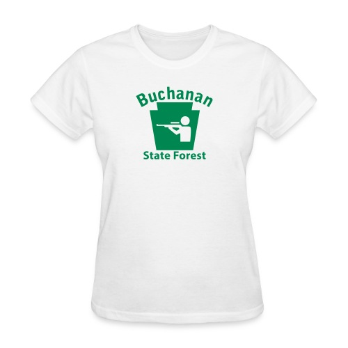 Buchanan State Forest Hunting Keystone PA - Women's T-Shirt