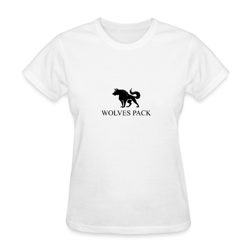 LOGO WOLF 1 black - Women's T-Shirt