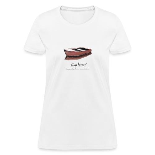 Red Boat Tshirt design3PN - Women's T-Shirt