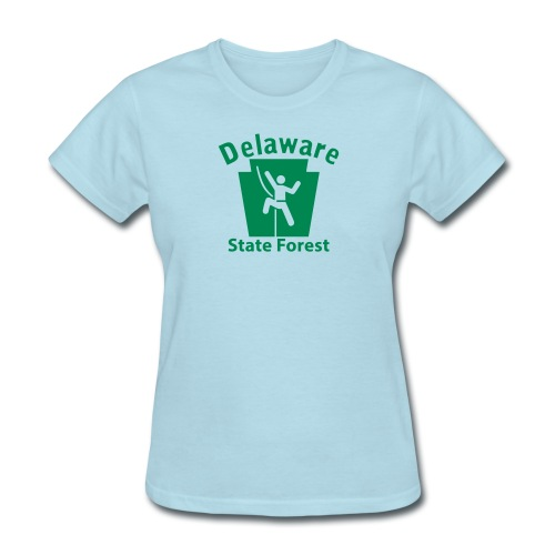 Delaware State Forest Keystone Climber - Women's T-Shirt