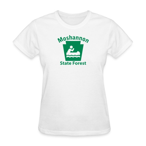 Moshannon State Forest Boating Keystone PA - Women's T-Shirt