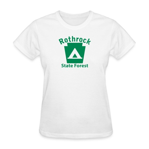 Rothrock State Forest Camping Keystone PA - Women's T-Shirt