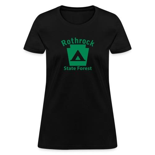 Rothrock State Forest Camping Keystone PA - Women's T-Shirt