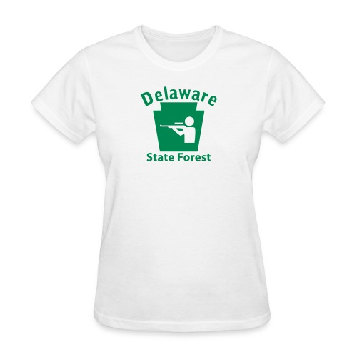 Delaware State Forest Hunting Keystone PA - Women's T-Shirt