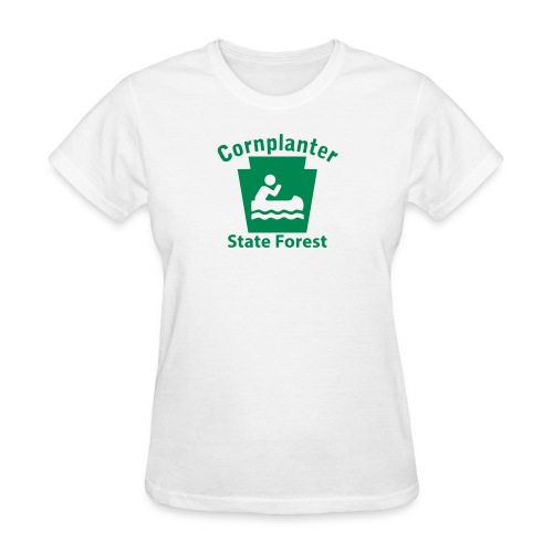 Cornplanter State Forest Boating Keystone PA - Women's T-Shirt