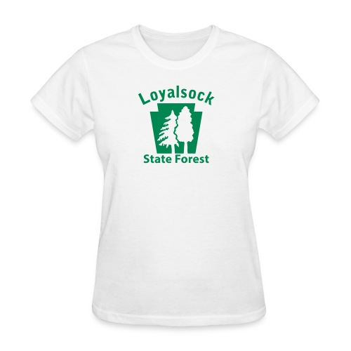 Loyalsock State Forest Keystone (w/trees) - Women's T-Shirt