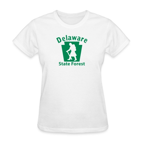 Delaware State Forest Keystone Hiker female - Women's T-Shirt