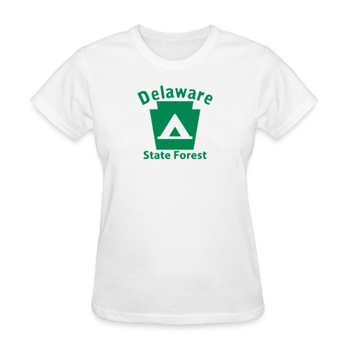 Delaware State Forest Camping Keystone PA - Women's T-Shirt