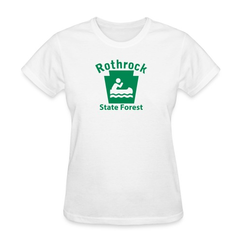 Rothrock State Forest Boating Keystone PA - Women's T-Shirt