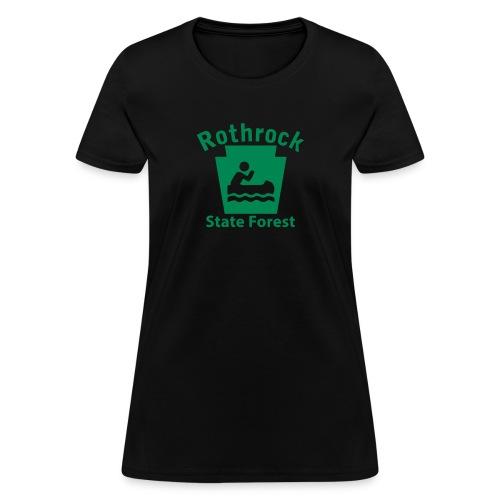 Rothrock State Forest Boating Keystone PA - Women's T-Shirt
