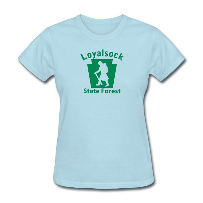 Loyalsock State Forest Keystone Hiker female