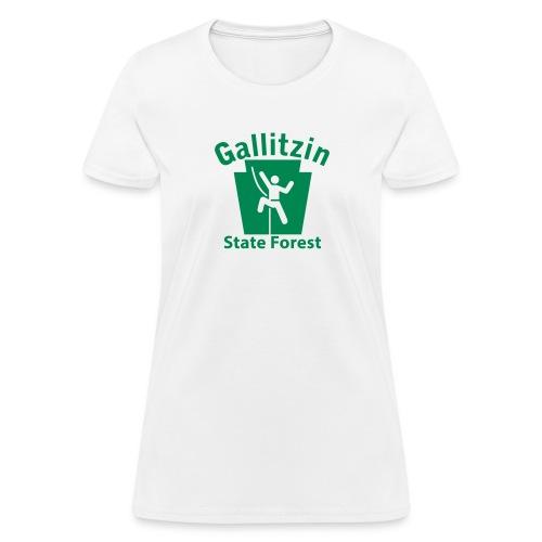 Gallitzin State Forest Keystone Climber - Women's T-Shirt