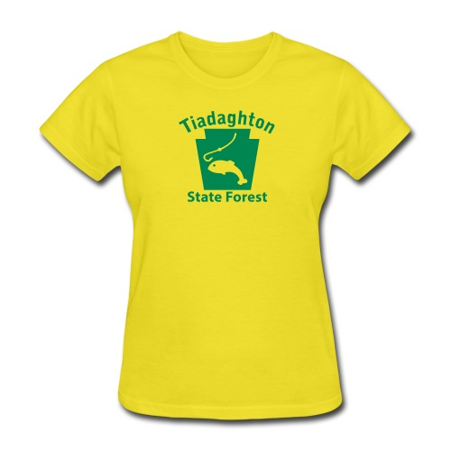 Tiadaghton State Forest Fishing Keystone PA - Women's T-Shirt