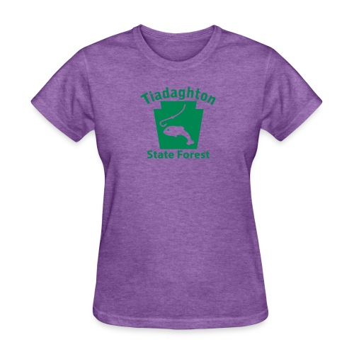 Tiadaghton State Forest Fishing Keystone PA - Women's T-Shirt