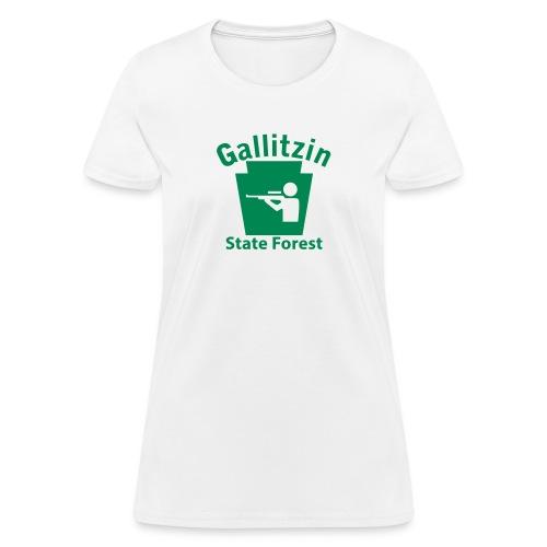 Gallitzin State Forest Hunting Keystone PA - Women's T-Shirt