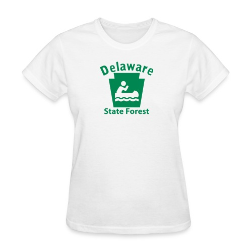 Delaware State Forest Boating Keystone PA - Women's T-Shirt