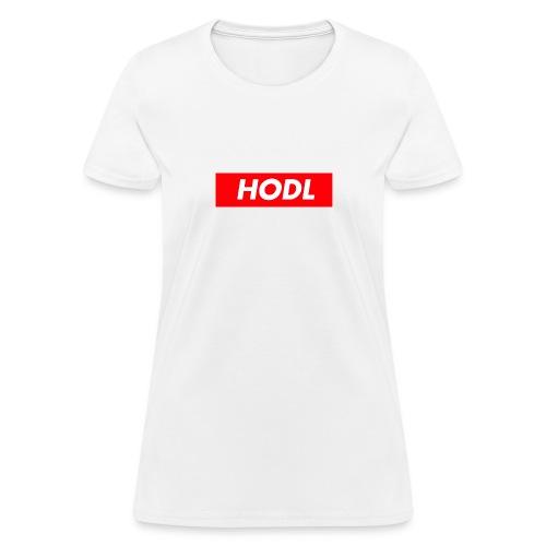 Hodl BoxLogo - Women's T-Shirt