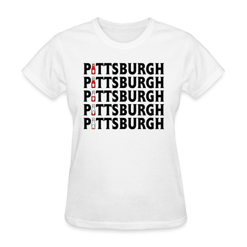 Pittsburgh (Ketchup) - Women's T-Shirt