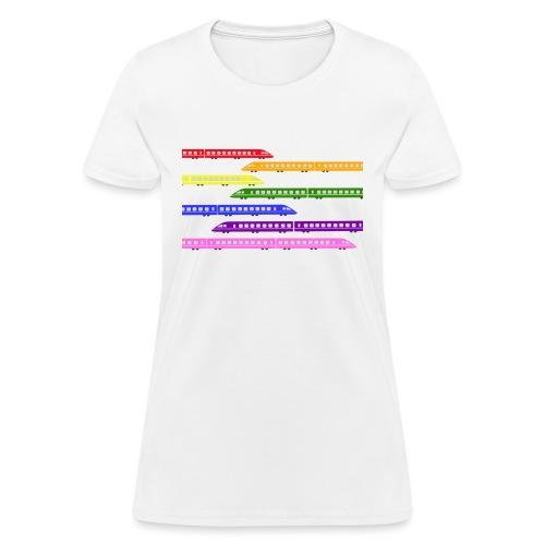 trains t shirt 2 - Women's T-Shirt