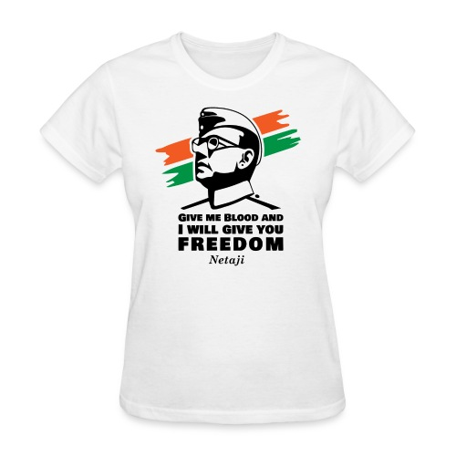 Subhash Chandra Bose - Women's T-Shirt