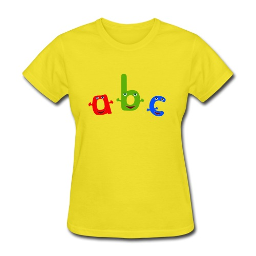 abc t shirt trans - Women's T-Shirt