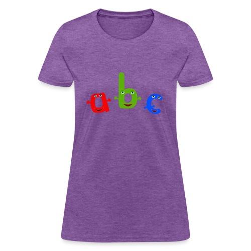 abc t shirt trans - Women's T-Shirt