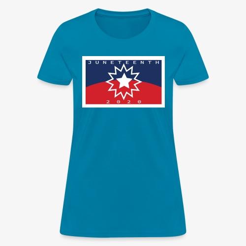 Juneteenth01 - Women's T-Shirt