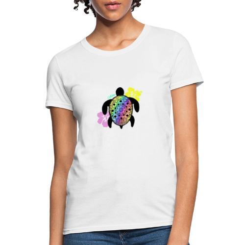 Aloha Sea Turtle - Women's T-Shirt