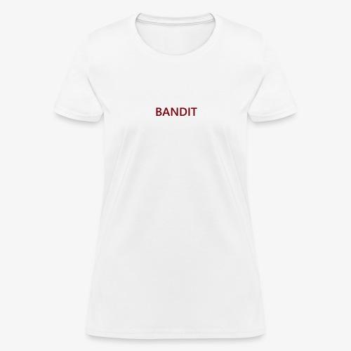 Bandit Text Logo - Women's T-Shirt