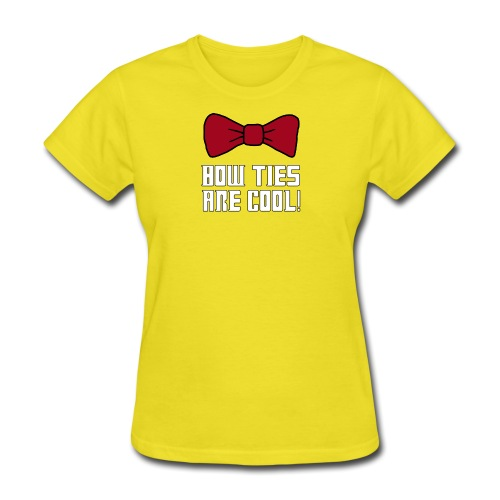 bow ties are cool - Women's T-Shirt