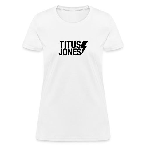 MAIN LOGO BLACK png - Women's T-Shirt
