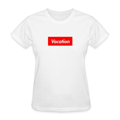 TheVacation (Supreme logo) - Women's T-Shirt