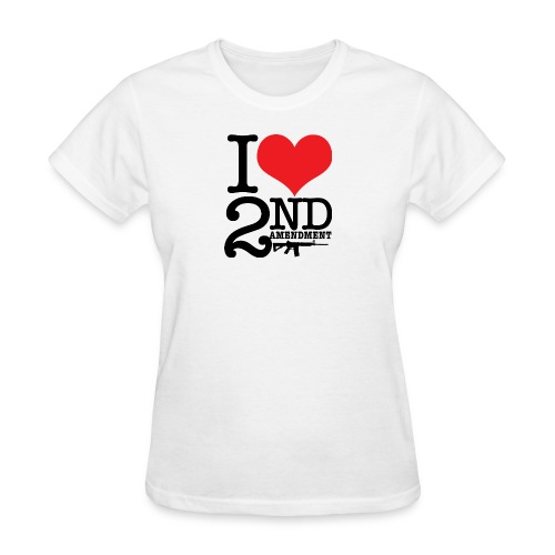 I love the 2nd Amendment - Women's T-Shirt