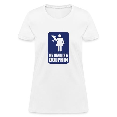 dolphin girl - Women's T-Shirt