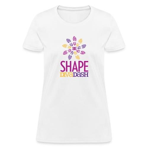 Shape Diva Dash Vert - Women's T-Shirt
