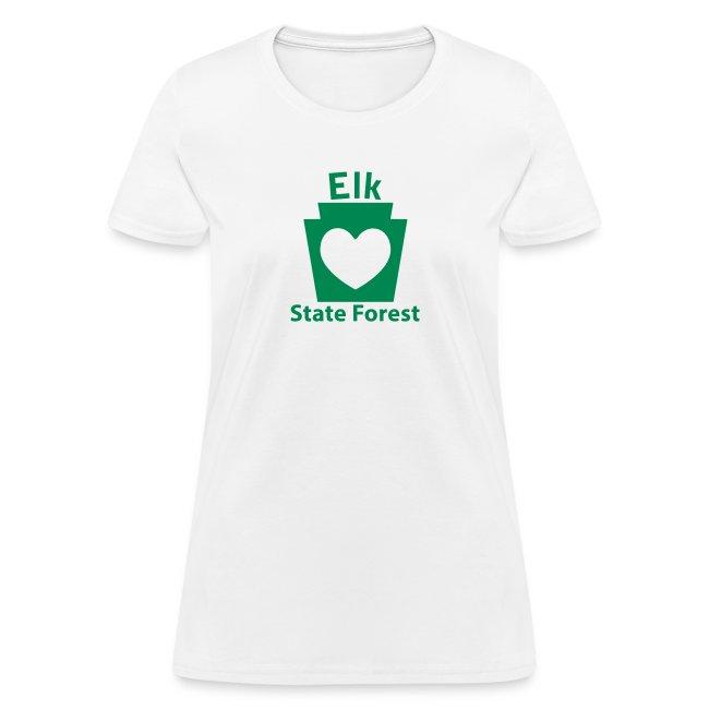 Elk State Forest Keystone Heart