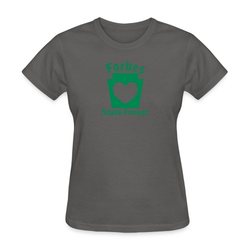 Forbes State Forest Keystone Heart - Women's T-Shirt