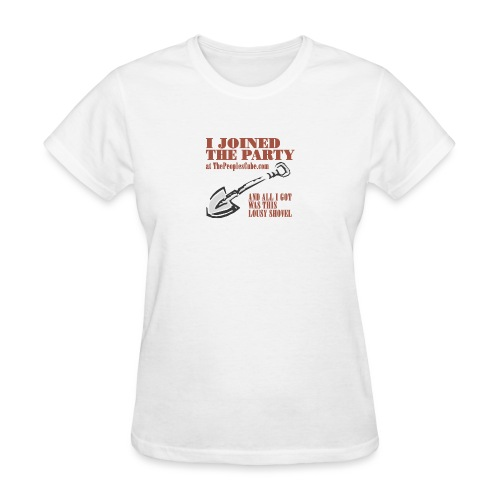 I joined the Party - Women's T-Shirt